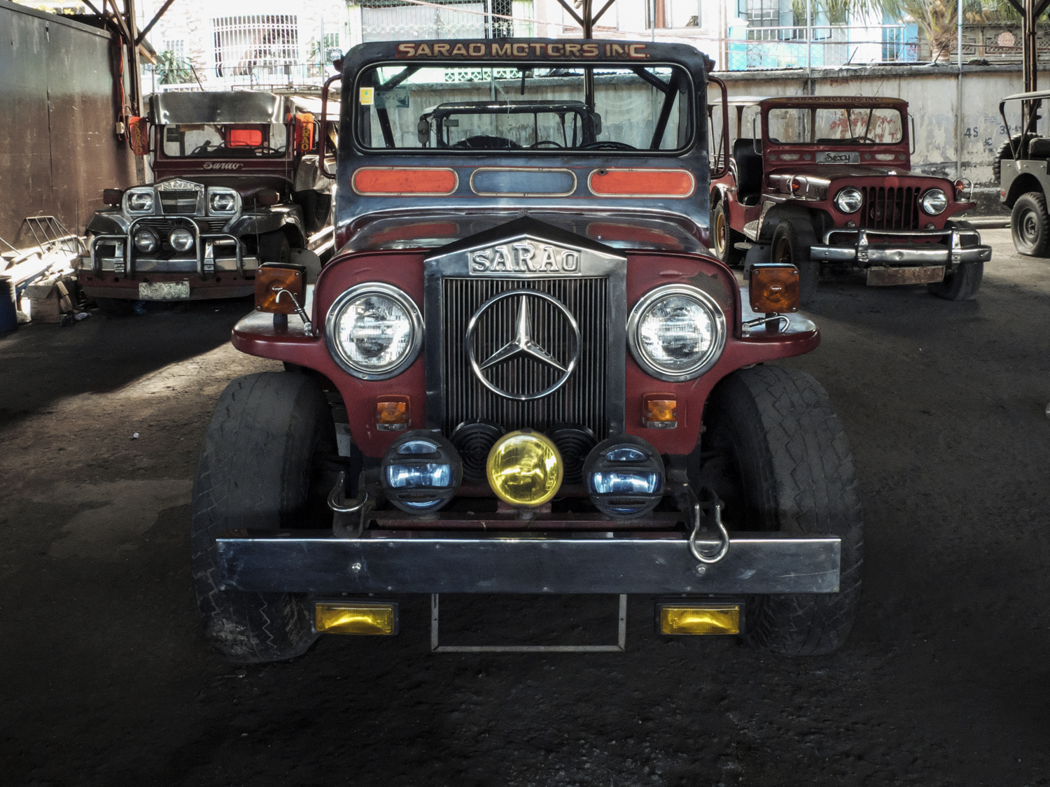The word Sarao has become synonymous with the Jeepney.