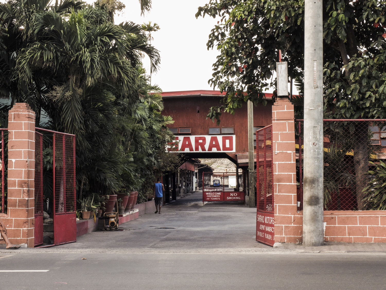 The Sarao Motors factory serves as a museum for Jeepneys from various decades.