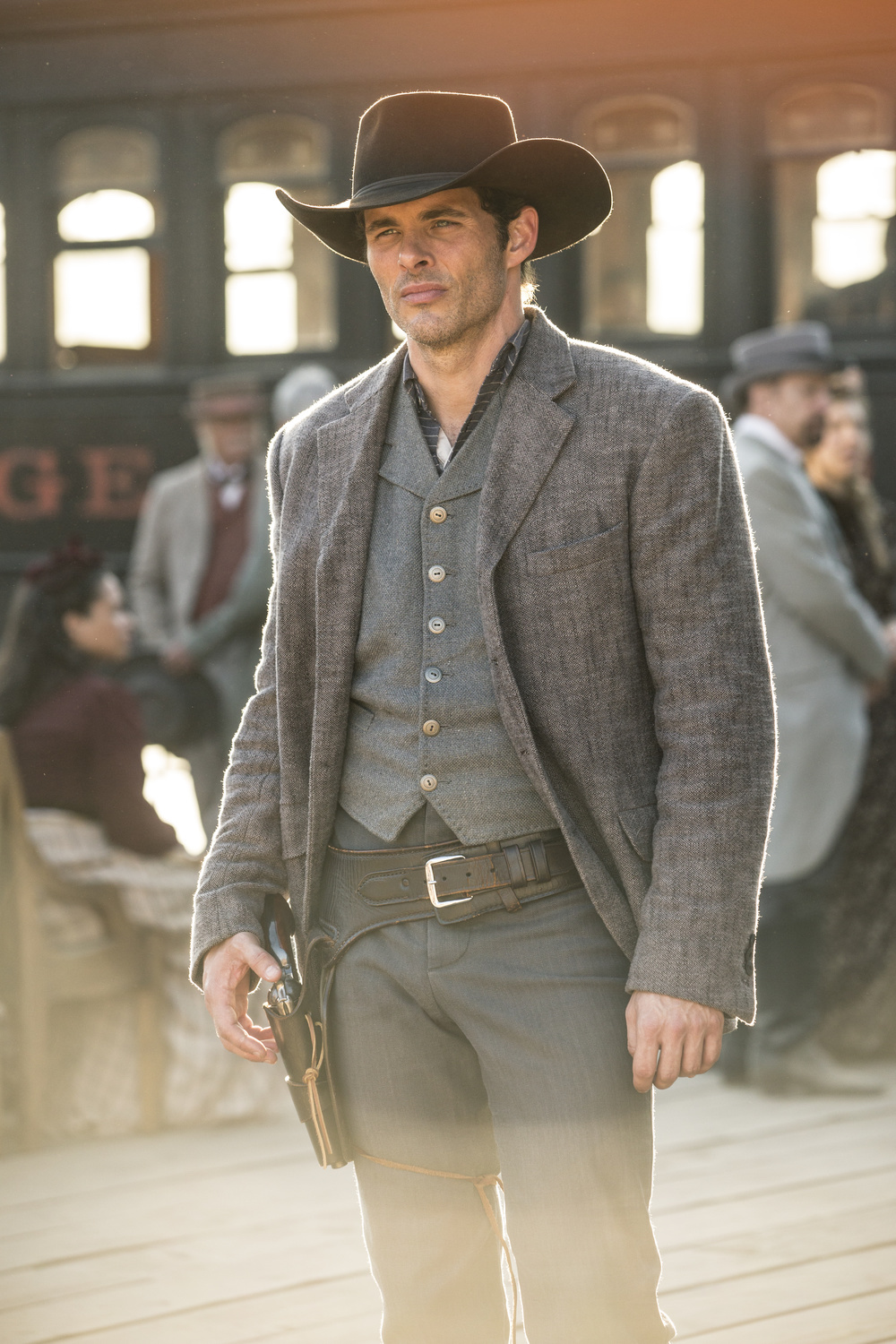 Suit Costume Teddy Flood Westworld
